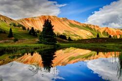 Coloured Lakes Of Abudelauri