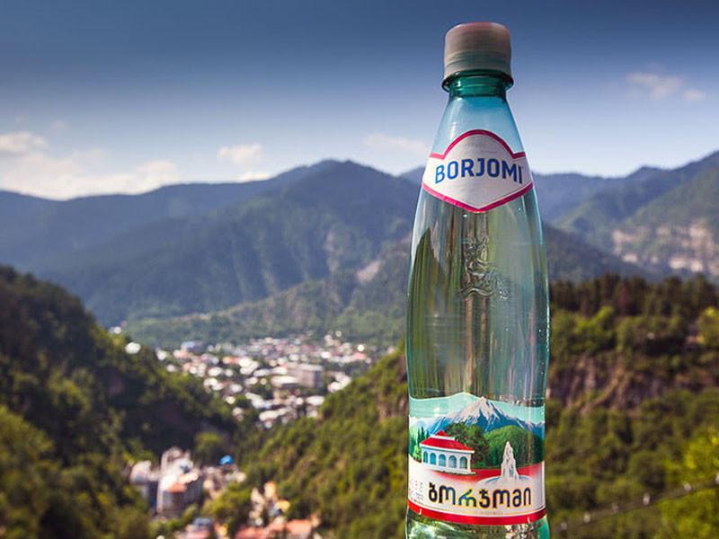 Borjomi minral water