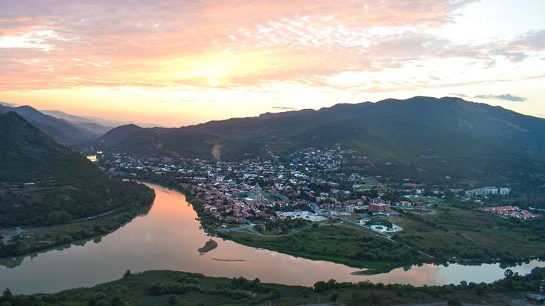 View from Jvari