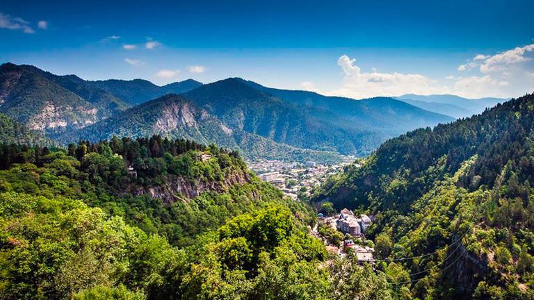 Borjomi panorama