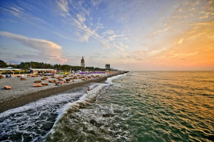 Batumi Boulevard. Tour 12 nights 13 days Georgia
