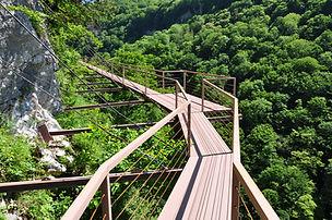Okatse canyon. Tour 7 nights 8 days in Georgia