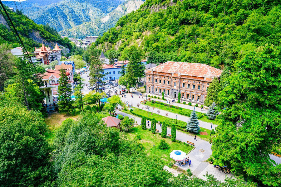 Borjomi from cable car