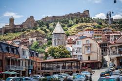 Tbilisi city center. Tour 10 nights 11 days Georgia