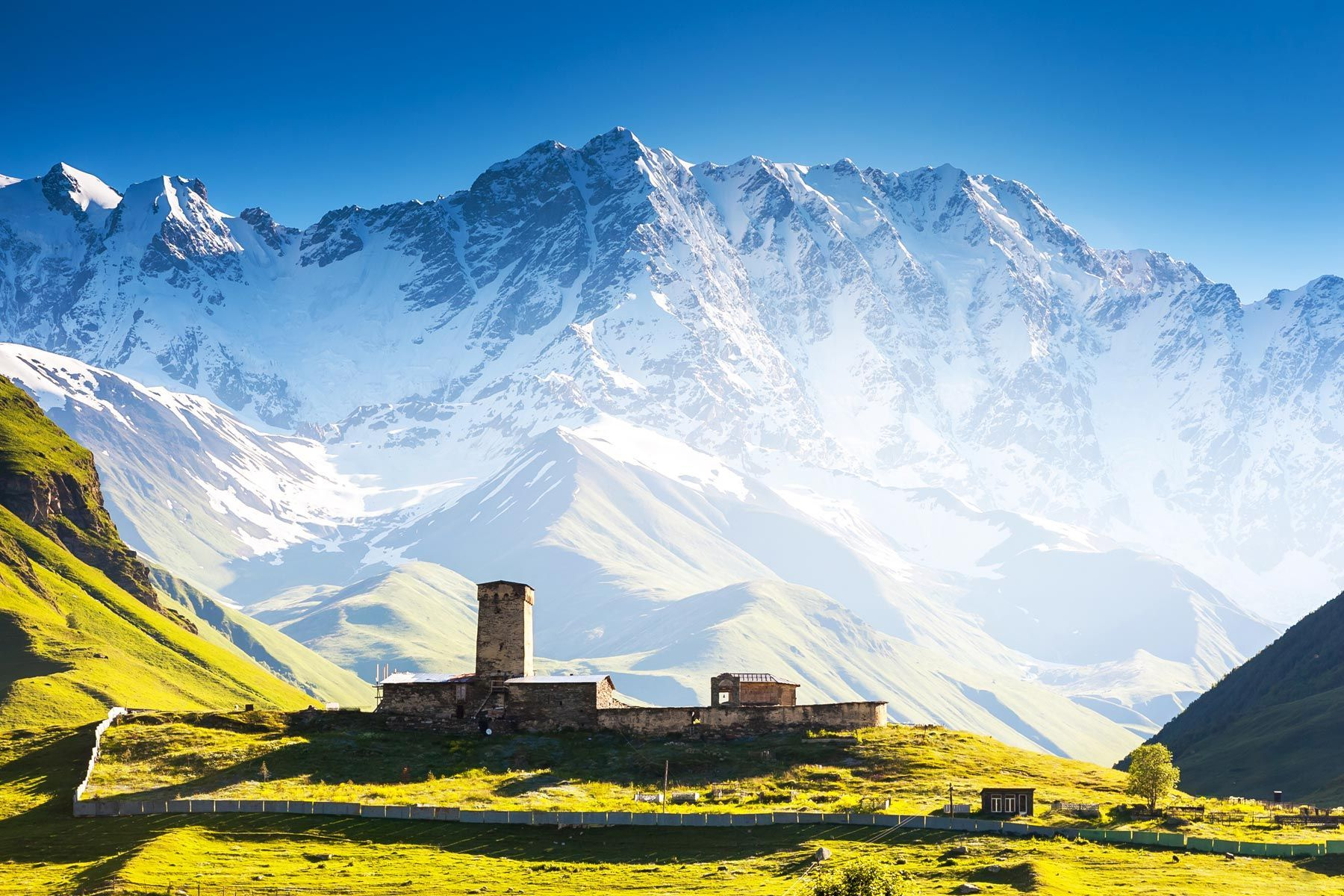 Svaneti Georgia. Tour 12 nights 13 days Georgia