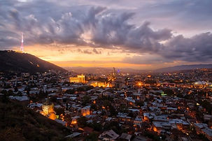 Sunset in Tbilisi. Tour for 3 nights 4 days