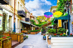 Tbilisi street. Tour for 3 nights