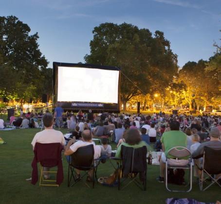 10 Outdoor Movie Venues