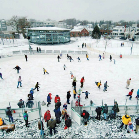 Outdoor Ice Skating Rinks on Long Island