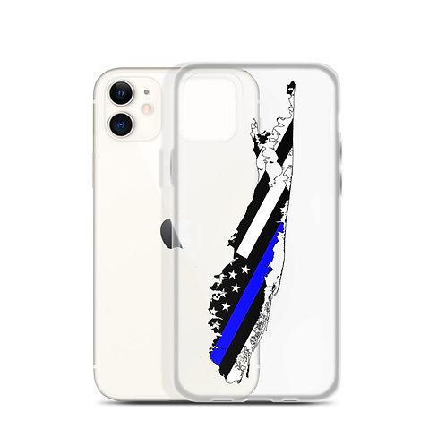 iPhone Case Blue Stripe
