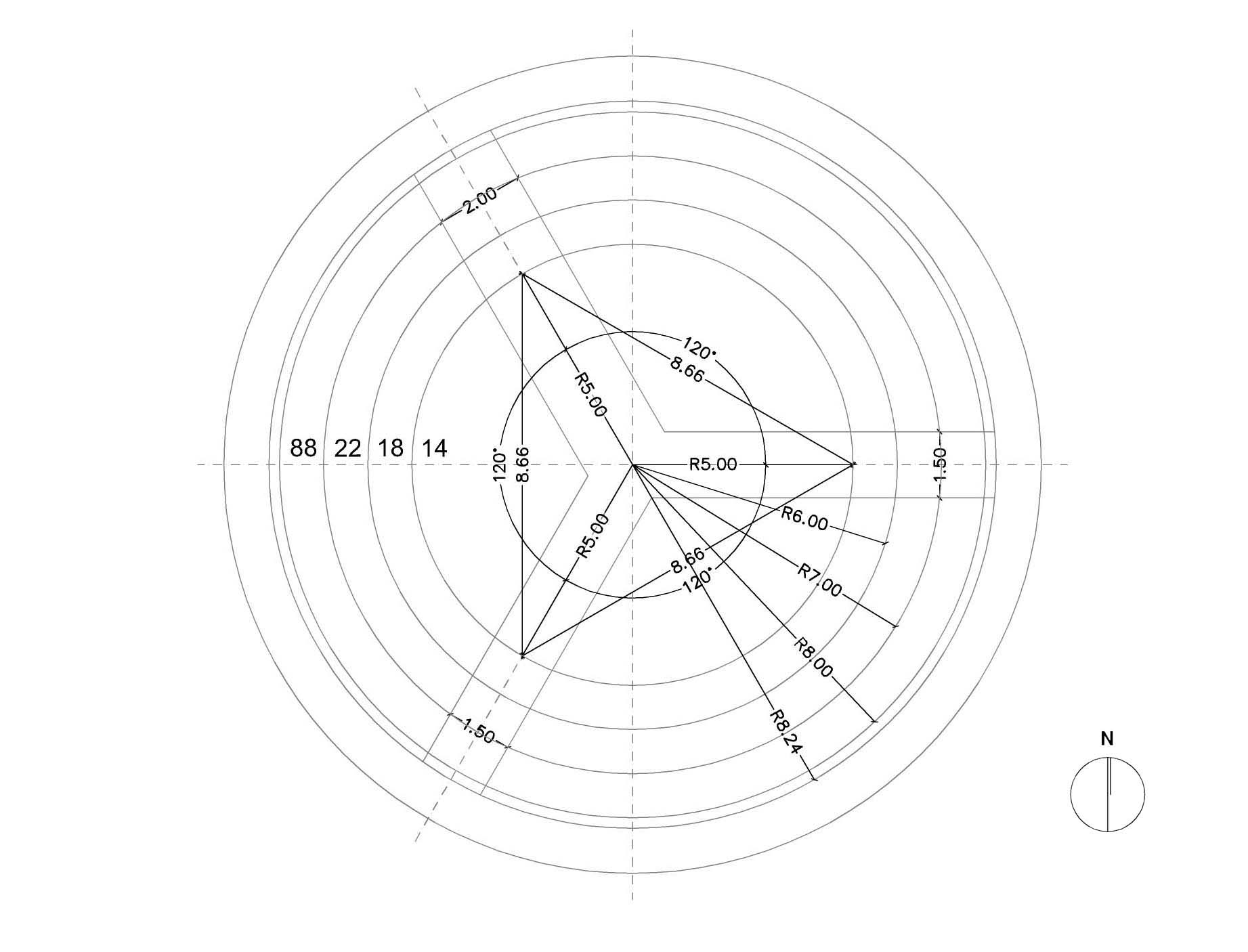 planta geometrial