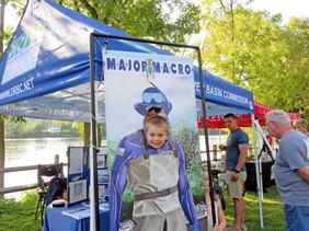 Major Macro Fun at Frenchtown River Fest
