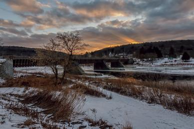 Upper Delaware River – Roebling Bridge