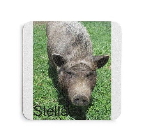 SPR Pig Photo Coaster