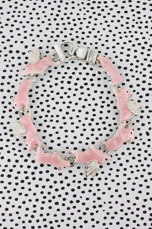 Adorable Pig Bracelet