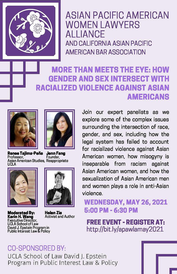 APAWLA 5-26-21 Gender Sex Racisiz Inters