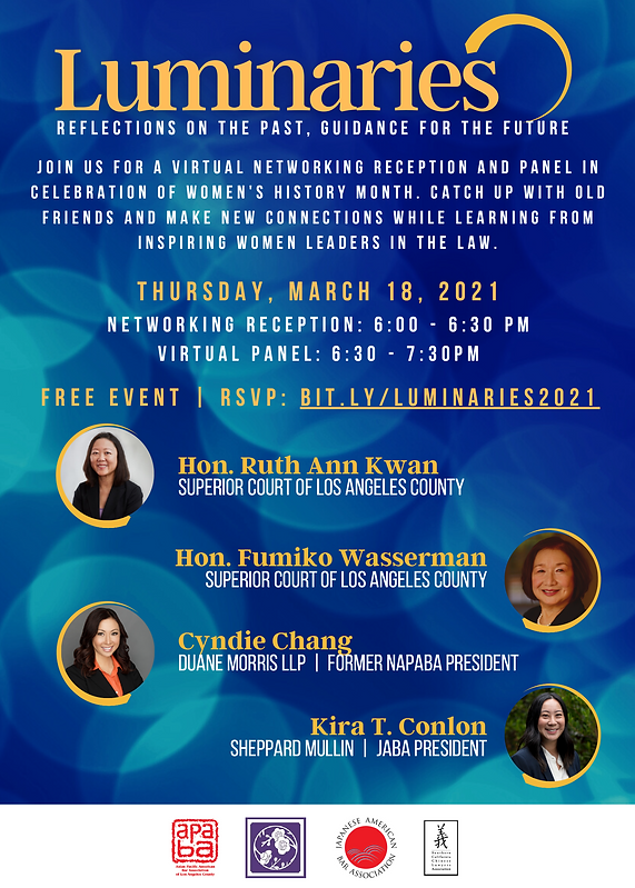 Women's History Month Panel (3.18.2021).