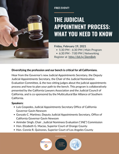 CLA 21-0219 Judicial Appointment Process