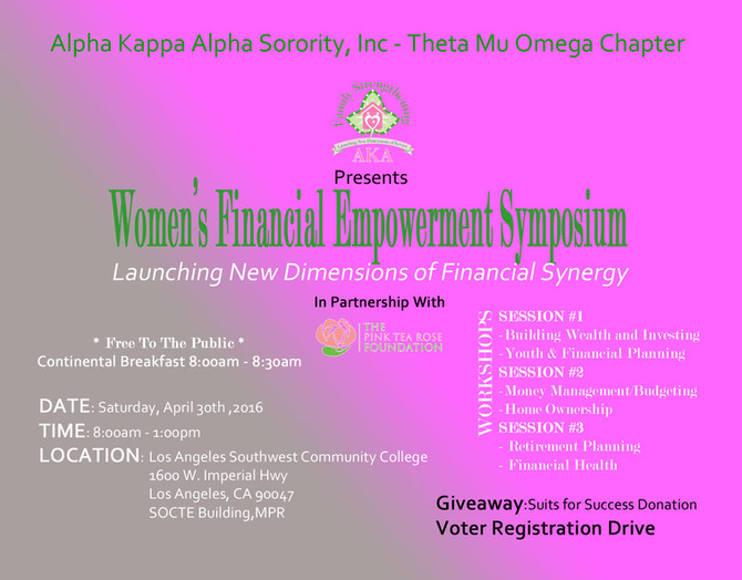 Women's Financial Empowerment Symposium
