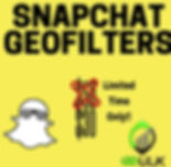 snapchat geofilters (location based)