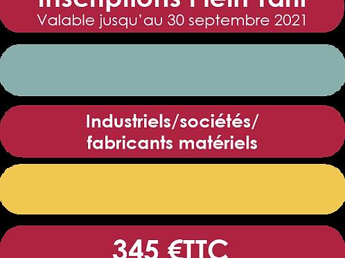 Industriels/sociétés/ fabricants matériels