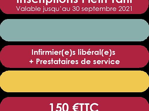 Infirmier(e)s libéral(e)s + Prestataires de service