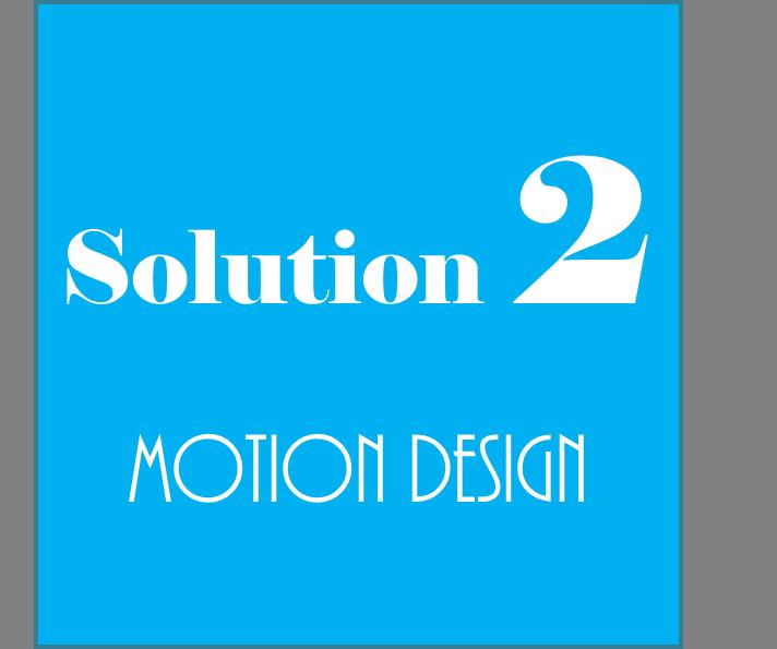 Projet MOTION DESIGN