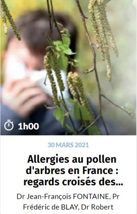 Allergies au pollen d'arbres en France.p