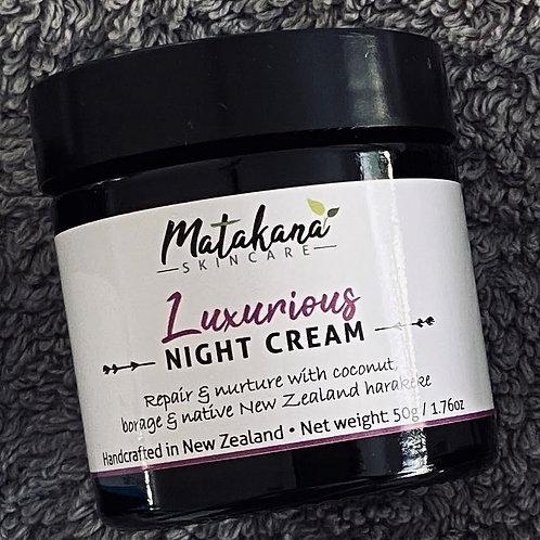 Luxurious Night Cream