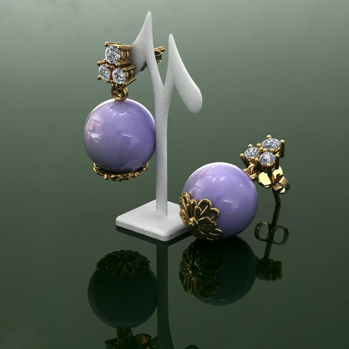 Jade Earring Drops