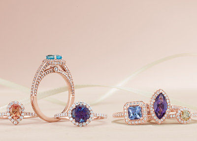 Bespoke Engagement rings from Chris Simpson Designs in Surrey and Hatton Garden