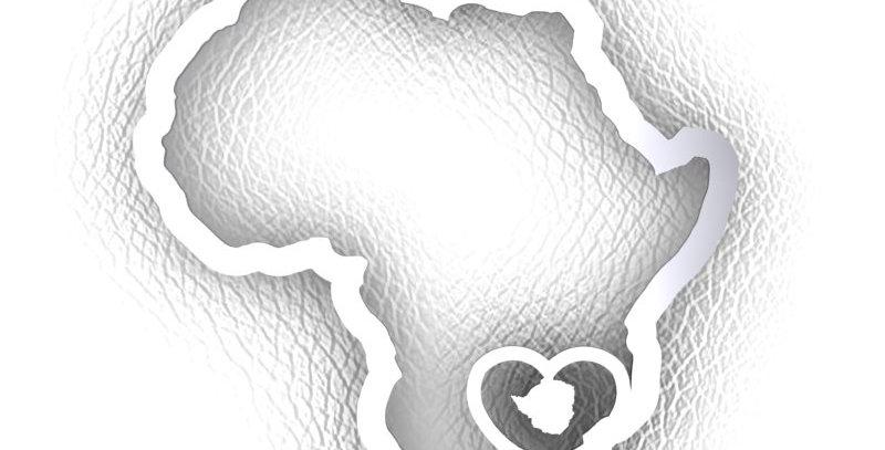 Zimbabwean Map Pendant.