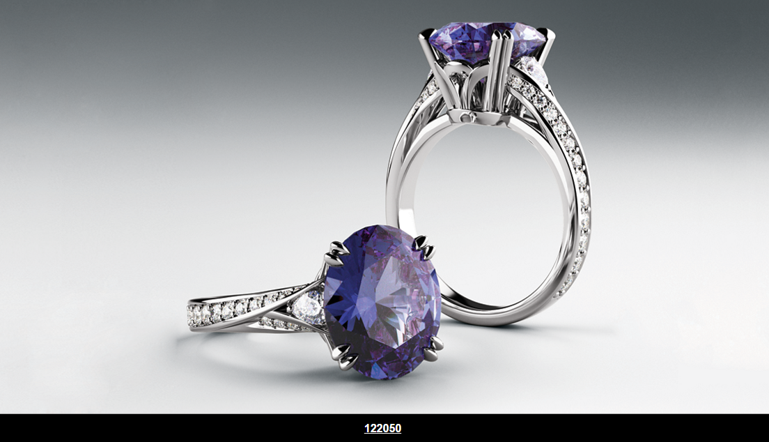 AMAZING ACCENTED RING
