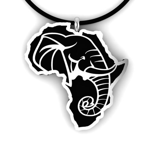 African Elephant Pendant