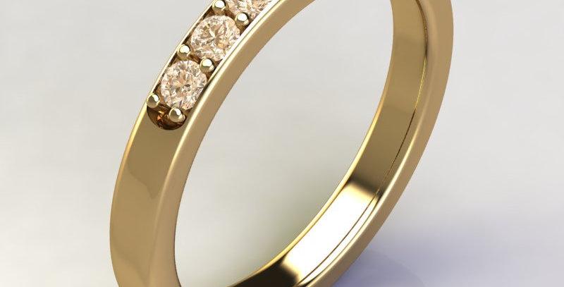 Half Eternity Ring Size K.