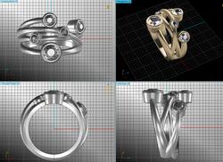Modern ring design