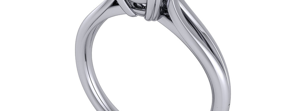 Diamond solitaire ring for 1.00ct finger size M ( 7 )
