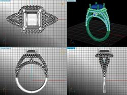 CAD design For Jeweller In Surrey.