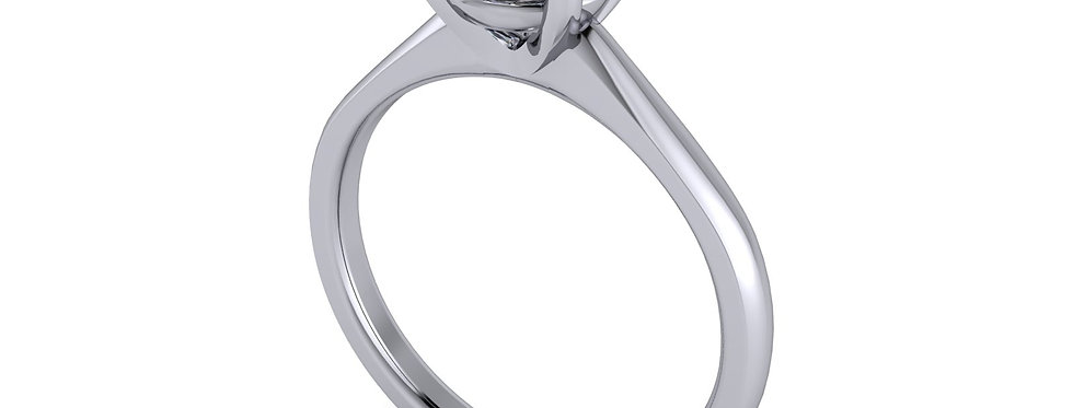 Diamond Solitaire Ring for a 1.00ct in finger size N  ( 7 )