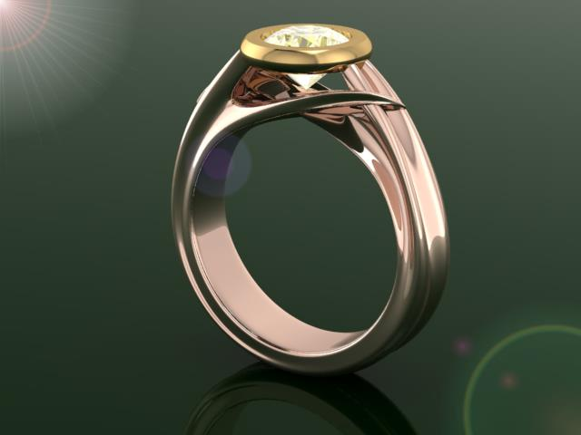 Stag RIng Design For a Friend.