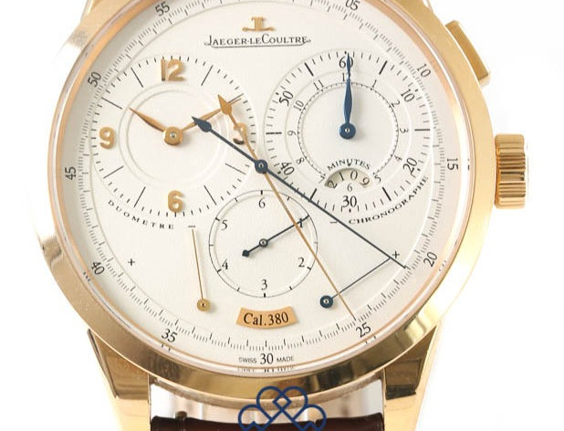 18ct Pink Gold Jaeger LeCoultre Duometre