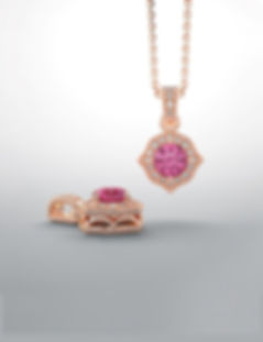 Pendants and Bespoke Engagement rings from Chris Simpson Designs in Surrey and Hatton Garden