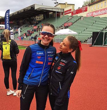 Clara Wågan sesongdebuterte på 3000m hinder under Kruskastevnet!