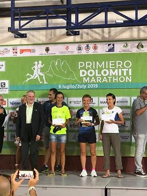 Hild Sissel Vannebo tok klasseseier i Primiero Dolomiti Maraton!