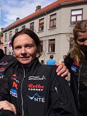 Hilde Borkmo løp 5km under Trønder-Østløpet!