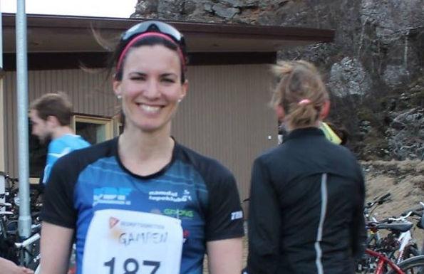 Renate Bugge løp 10km under Gampen i Bodø!