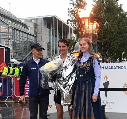 Håvard Fjærli satte ny klubbrekord på halvmaraton!