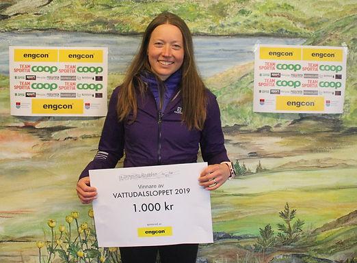 Laila Kveli vant Vattudalsloppet!