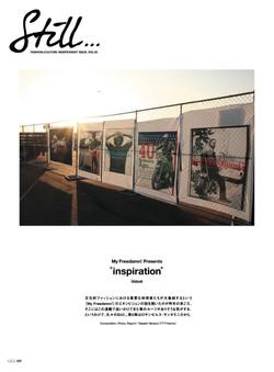 """関西雑誌カジカジ連載企画「Still vol.5 """"Inspiration""""」"""