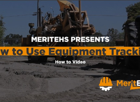 How to Use Equipment Tracking